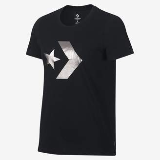 Converse Star Chevron Metallic Womens T-Shirt