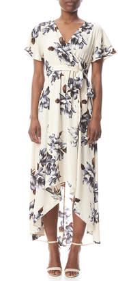 Tua Floral Wrap Dress