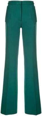 Rochas long flared trousers