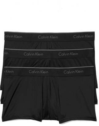 Men's Calvin Klein 3-Pack Stretch Trunks $42.50 thestylecure.com