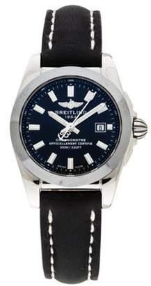 Breitling Galactic Watch black Galactic Watch