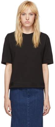 McQ Black Taped Swallow T-Shirt
