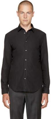 Maison Margiela Black Poplin Shirt