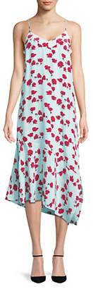 Equipment Jada Floral Silk Dress
