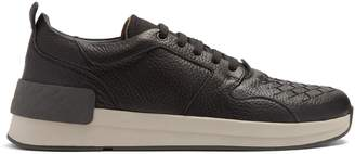 Bottega Veneta Intrecciato leather trainers