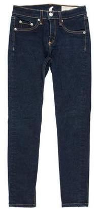 Rag & Bone Cropped Mid-Rise Jeans