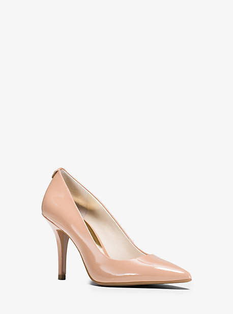 Michael Kors Flex Leather High-Heel Pump
