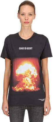 clear Cease And Desist New Cotton Jersey T-shirt