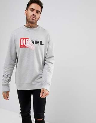 Diesel S-SAMY Logo Sweatshirt