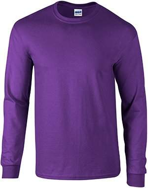 Gildan Ultra Cotton 6 oz. Long-Sleeve T-Shirt (G240)- ,L