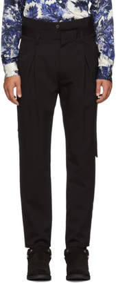 BED J.W. FORD Black High-Waisted Trousers