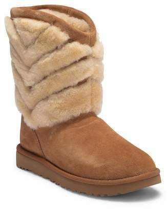 UGG Tania Genuine Shearling Suede Boot