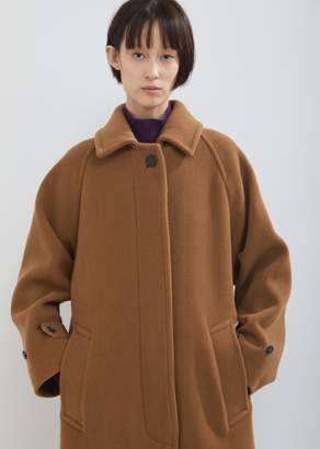 MACKINTOSH Wool Raglan Sleeve Oversized Coat