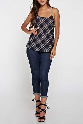 Love Stitch Lovestitch Shania Plaid Tank