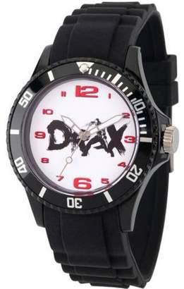 Marvel Guardians of the Galaxy Vol 2 Drax Unisex Back Plastic Watch, Black Bezel, Black Plastic Strap