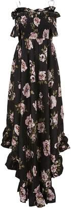 Philipp Plein Full Of Flower Evening Dress