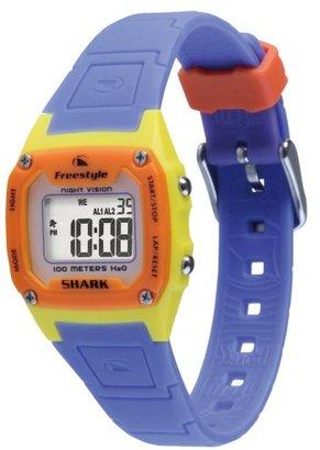 Freestyle (フリースタイル) - [フリースタイル]Freestyle スポーツウォッチ SHARK CLASSIC MID デジタル表示 10気圧防水 イエロー×パープル FS80979 レディース 【正規輸入品】