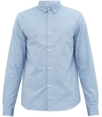 A.p.c. - Button Down Collar Oxford Shirt - Mens - Blue
