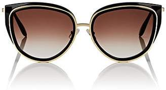 Thierry Lasry Women's Enigmaty Sunglasses - Black