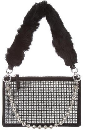Opening CeremonyOpening Ceremony Crystal Nev Zip Clutch w/ Tags