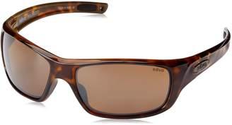 Revo Guide II RE 4073 02 BR Polarized Rectangular Sunglasses
