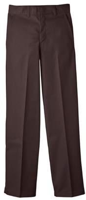 Dickies Boys' Classic Fit Uniform Straight Leg Flat Front Pants (Husky Boys)
