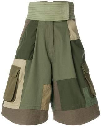 Valentino patchwork shorts