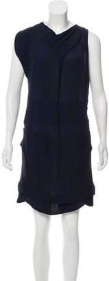 Isabel Marant Printed Silk Knee-Length Dress
