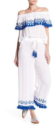Do & Be Do + Be Tassel Hem Pants