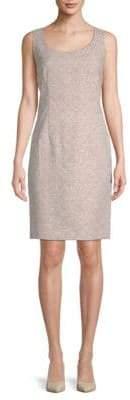 Lafayette 148 New York Rebecca Scoopneck Sheath Dress
