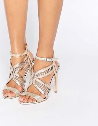 Miss KG Fox Metallic Heeled Sandals