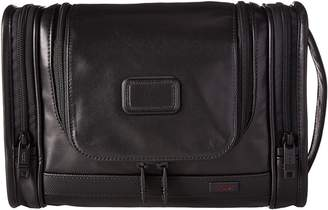 Tumi Alpha 2 - Hanging Leather Travel Kit Travel Pouch