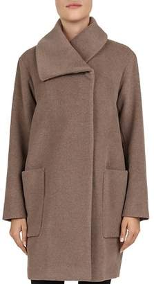 Gerard Darel Marjory Asymmetric Wool Coat - 100% Exclusive