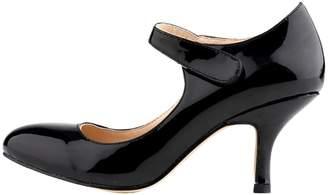 HooH Women's Kitten Heel Wedding Pumps Mary Jane Shoes Lemon 7 US