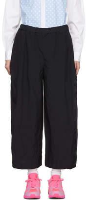 Comme des Garcons Navy Voluminous Trousers