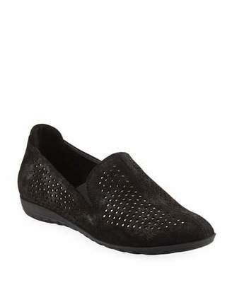 Sesto Meucci Berget Studded Comfort Slip-Ons, Black