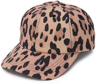 Eugenia Kim leopard print baseball cap