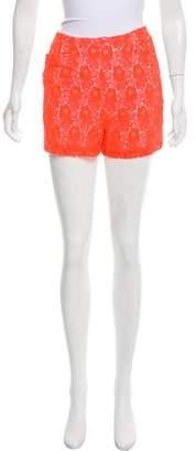 A.L.C. High-Rise Mini Shorts