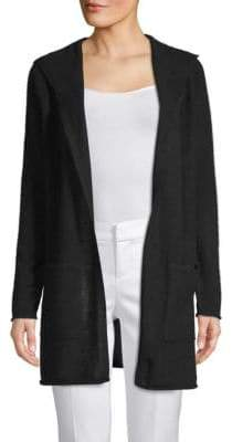 Saks Fifth Avenue Cashmere Hooded Cardigan