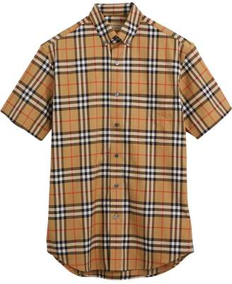 Burberry Short-sleeve Vintage Check Shirt