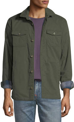Original Penguin Men's Utility Pocket Jacket