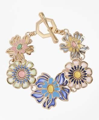 Brooks Brothers Floral Bracelet