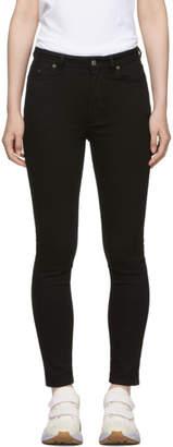 Acne Studios Bla Konst Black Peg Jeans