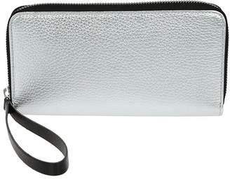 MM6 MAISON MARGIELA Metallic Zip Around Wallet