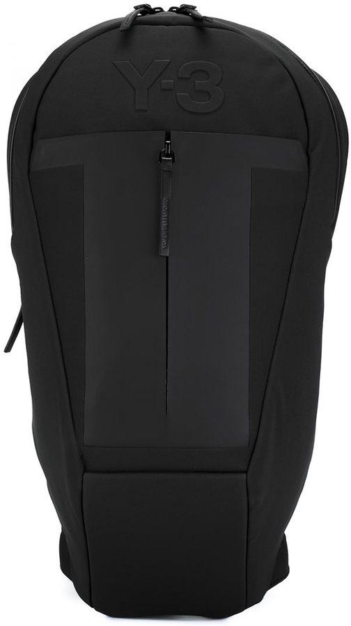 Y-3Y-3 embossed logo backpack