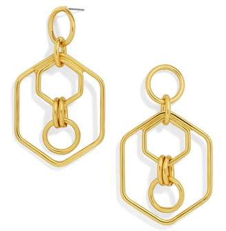 BaubleBar Stephania Hoop Earrings