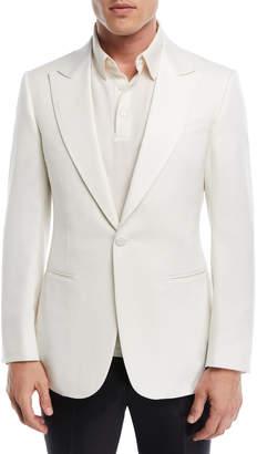 Ermenegildo Zegna One-Button Wool Jacket