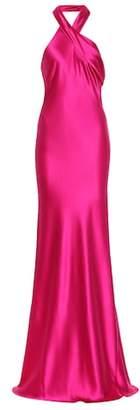 Pandora Galvan silk gown