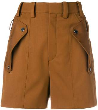 Chloé flap pocket shorts