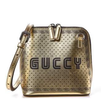 Gucci Guccy Top Zip Shoulder Bag Mini Gold